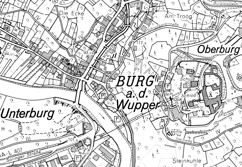 Rheinischer Städteatlas Burg - Institut für Landeskunde und ...