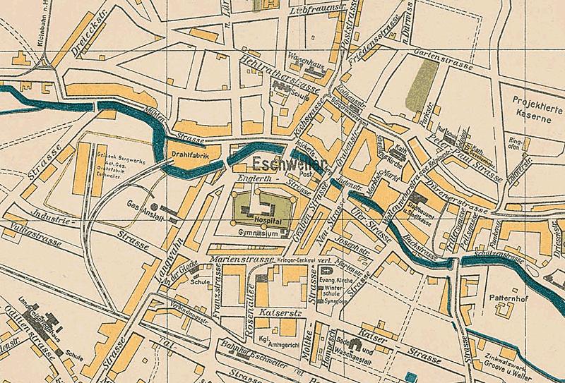 Historischer Stadtplan - Institut für Landeskunde und Regionalgeschichte