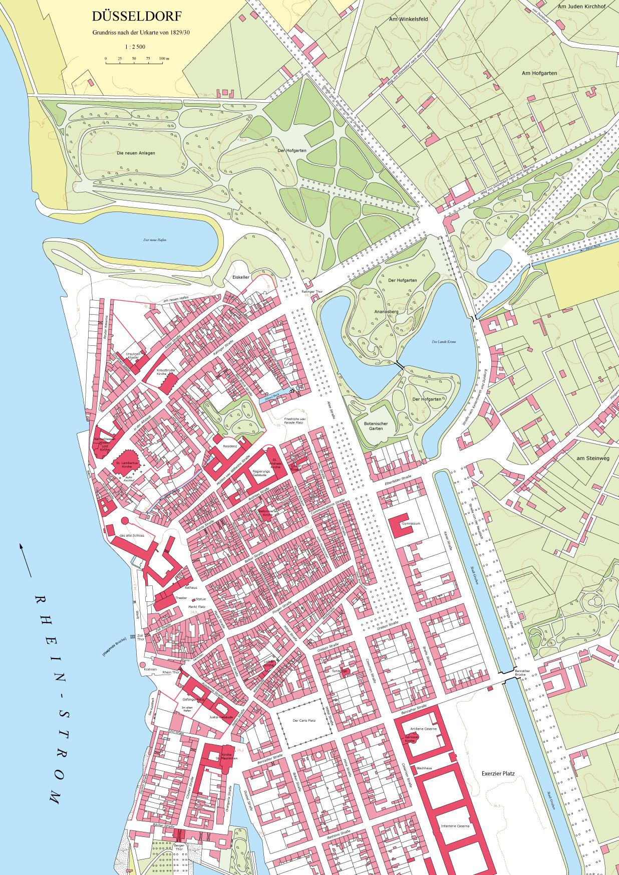 Düsseldorf Karte.Düsseldorf Institut Für Landeskunde Und Regionalgeschichte